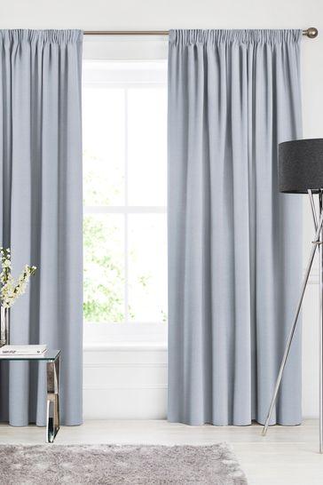 Soho Powder Blue Made To Measure Curtains