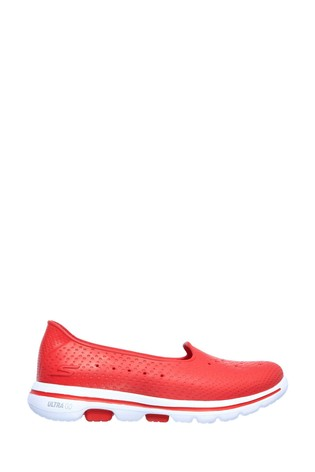 Skechers® Red Go Walk 5 Sun Kissed Trainers