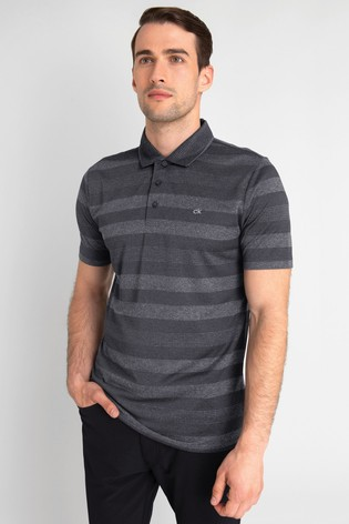 Calvin Klein Golf Shadow Stripe Polo Shirt