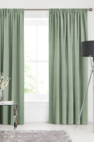 Alpine Green Soho Made To Measure Curtains
