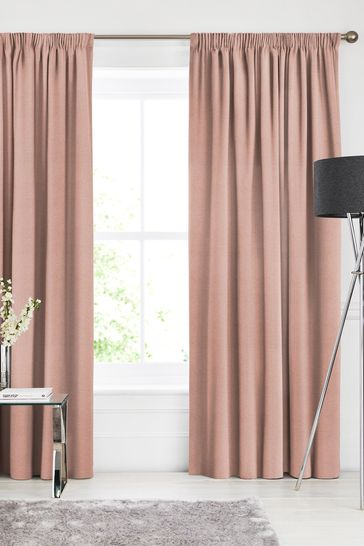 Soho Coral Pink Made To Measure Curtains