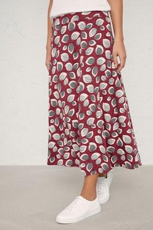 Seasalt Red Tamba Skirt