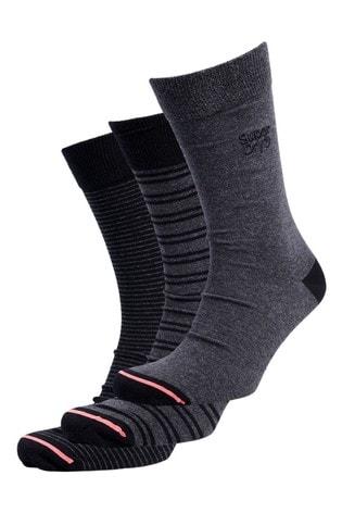 Superdry City Socks Three Pack