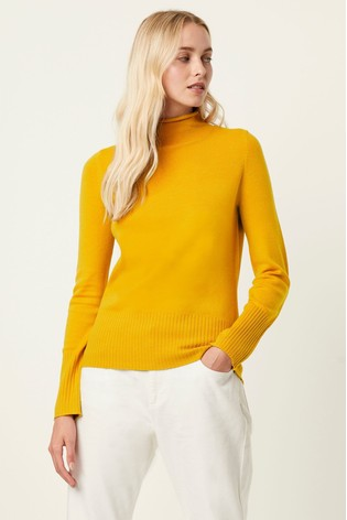 French Connection Yellow Jumper
