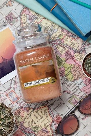 Yankee Candle Classic Large Warm Desert Wind Candle