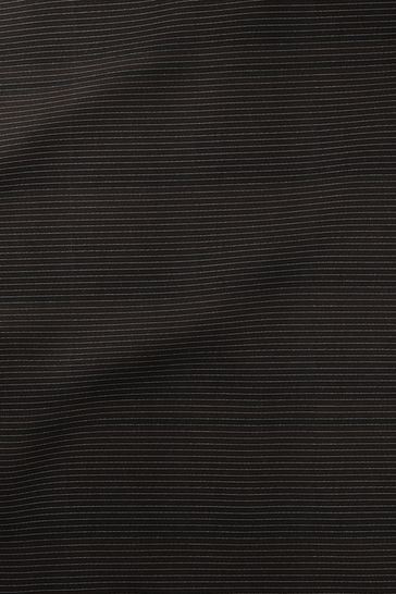 Pinter Ebony Black Made To Measure Roller Blind