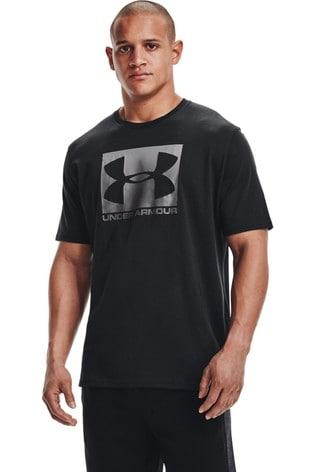 Under Armour Black Box Logo T-Shirt