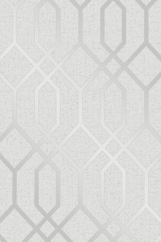Quartz Trellis Wallpaper by Fine Décor