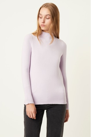 French Connection Purple Jumper