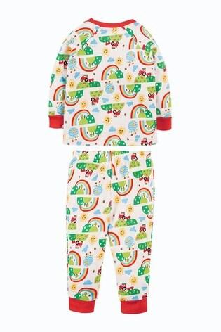 Frugi GOTS Organic Pyjamas - Happy Days Print