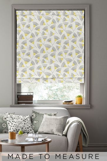Persia Picalilli Yellow Made To Measure Roman Blind by MissPrint