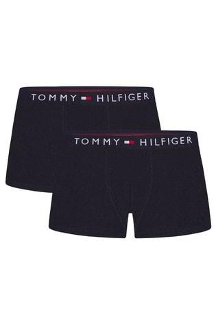 Tommy Hilfiger Blue Trunks 2 Pack