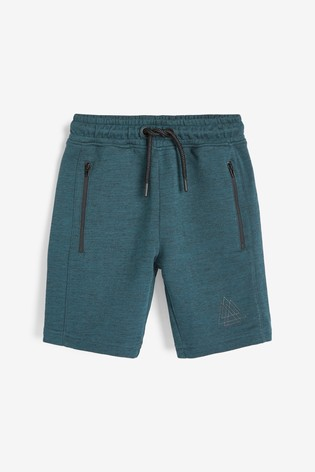 Teal Sporty Shorts (3-16yrs)