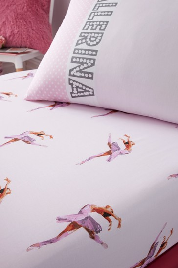 Ballerina Fitted Sheet by Catherine Lansfield