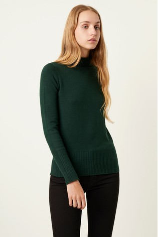 French Connection Green Jumper