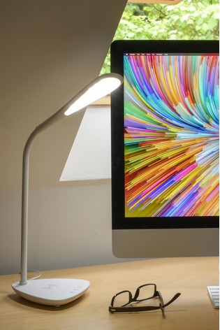 Koble Elliptical Phone LED Wireless Charging Lamp
