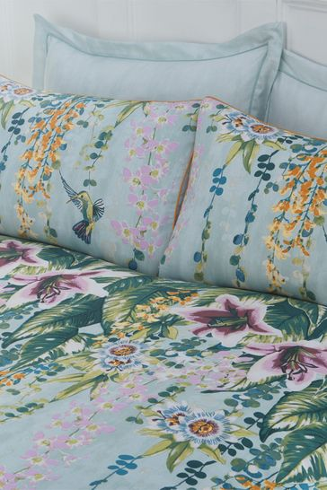 Nocturnal Hanging Gardens Duvet Cover and Pillowcase Set by Riva Home