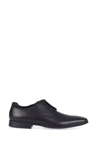 Start-Rite Black Leather Academy Shoes