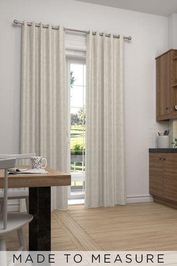 Hallam Champagne Natural Made To Measure Curtains