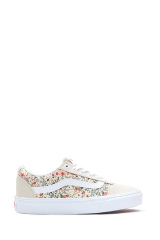 Vans Ward Ditsy Floral Trainers
