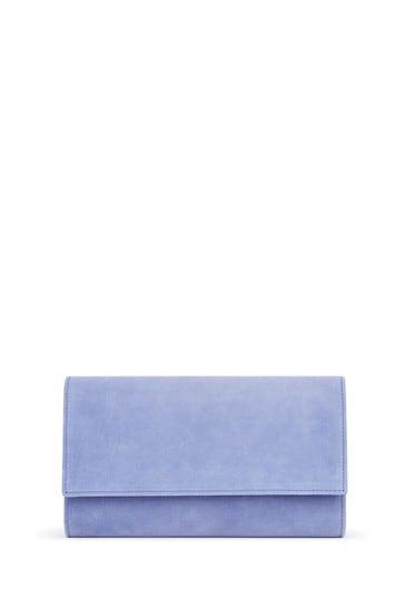 L.K.Bennett Blue Dayana Clutch Bag