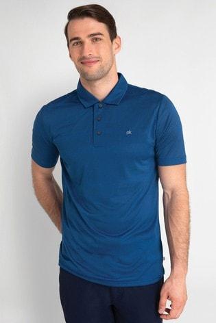 Calvin Klein Golf Shadow Stripe Poloshirt