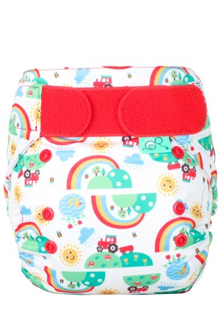 TotsBots EasyFit Star All-in-One Reusable Nappy Happy Days