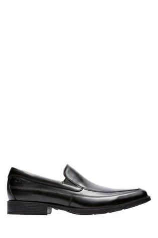 Clarks Black Tilden Free Shoe