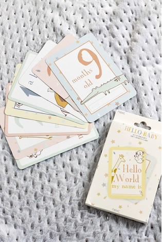 Baby First Moments Cards
