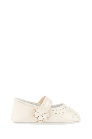 Monsoon Baby Princessa Cutwork Booties