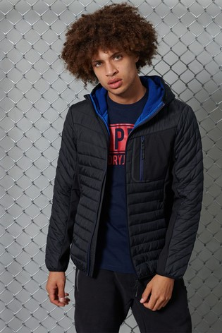 Superdry Convection Hybrid Hooded Jacket