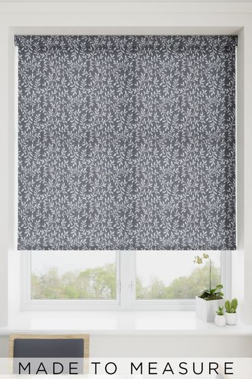 Aston Ash Grey Made To Measure Roller Blind