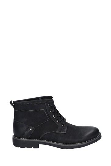 Hush Puppies Black Duke Chukka Boots