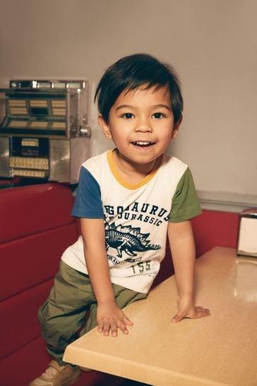 Khaki Cargo Trousers (3mths-7yrs)