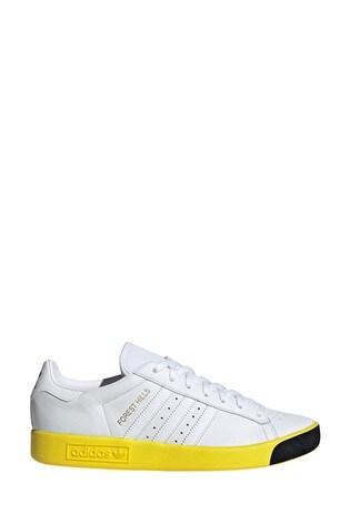 Buy adidas Originals White/Yellow