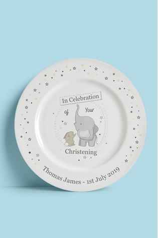 Personalised Christening Plate by Signature PG