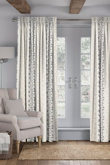 Georgia Steel Grey Made To Measure Curtains