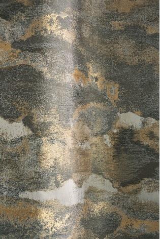 Metallic Stormy Jacquard Fabric Sample