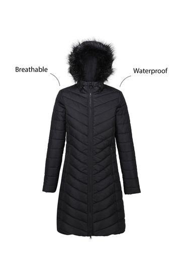 Regatta Black Fritha Insulated Jacket