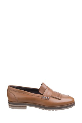 Riva Brown Olympia Ladies Loafers