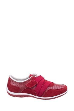 Fleet & Foster Red Bellini Comfort Shoes