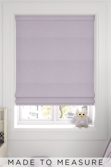 Leta Candyfloss Pink Made To Measure Roman Blind