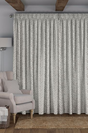 Gilley Fog Grey Made To Measure Curtains