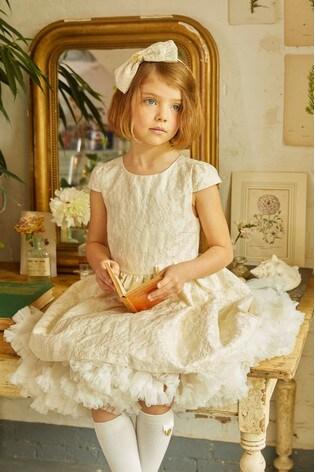 Angel's Face White Bridget Dress