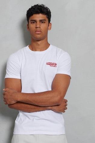 Superdry Classic Logo Athletics Micro T-Shirt