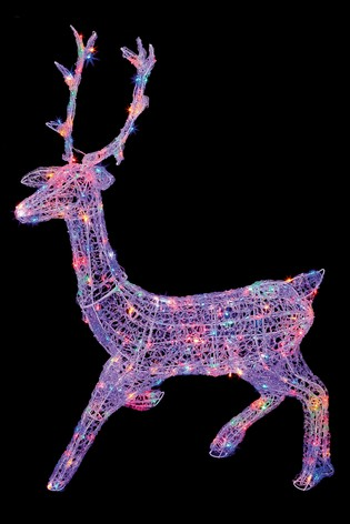 Stag Flashing Decoration by Premier Decorations Ltd