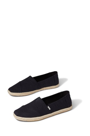TOMS Slubby Woven Alpargata Rope Shoes