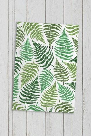 Central 23 Fern Leaf Notebook