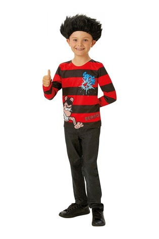 Rubies Dennis The Menace Fancy Dress Top And Wig