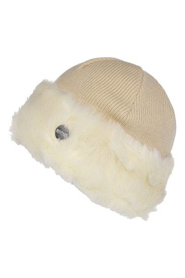 Regatta Cream Luz II Faux Fur Hat